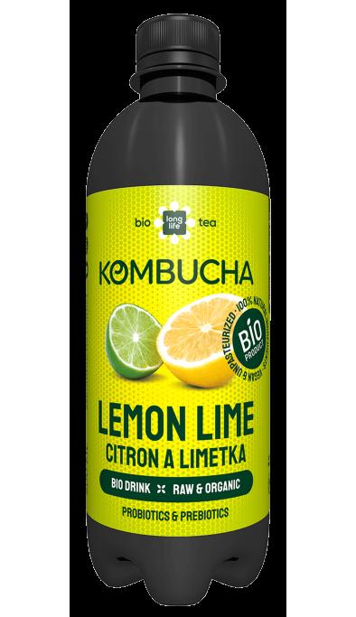 Kombucha Citron a Limetka BIO