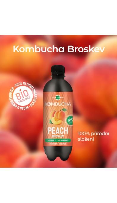 Kombucha Broskev BIO