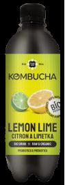 LONG LIFE BIO Kombucha Citron a Limetka 0.5l